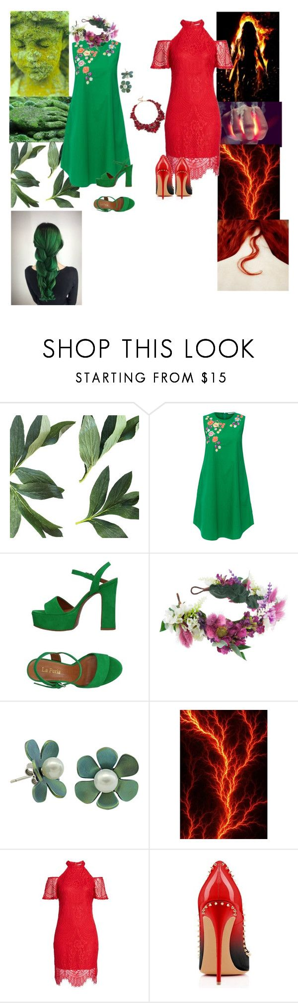 """Untitled #20"" by leunicorn ❤ liked on Polyvore featuring Megan Park, La Perla, Rock 'N Rose, love, FiRE and Sole Society"