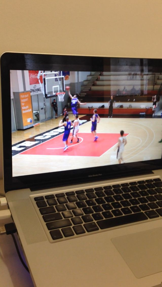 A look behind the scenes of our work with US Sports website #BleacherReport, covering Australian #basketball young-gun #DanteExum. #Filming for a week in #Melbourne. #slamdunk