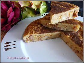 Tortilla de Pan con Chichas, Jijas o Zorza