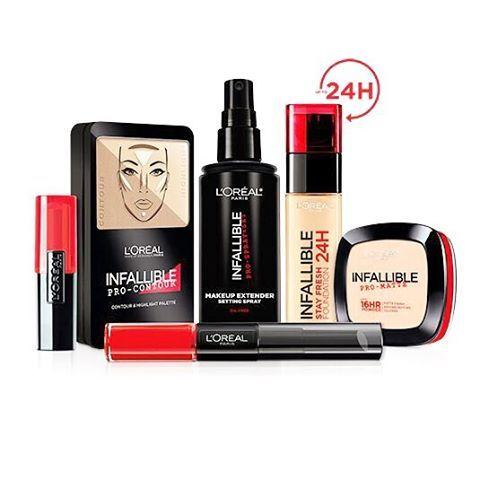 Say goodbye to makeup enemies! Kini rangkaian Infallible dari L'Oreal Paris telah hadir di Indonesia. Merupakan long wear makeup yang dapat bertahan seharian seri Infallible terdiri dari tujuh produk kosmetik yang akan akhiri masalah Anda dengan makeup enemies. Cari tahu mana yang menjadi favorit Anda! (Beauty Assistant @karinceatarine) #elleupdate #ellebeauty #loreal #infallible #cosmetics  via ELLE INDONESIA MAGAZINE OFFICIAL INSTAGRAM - Fashion Campaigns  Haute Couture  Advertising…