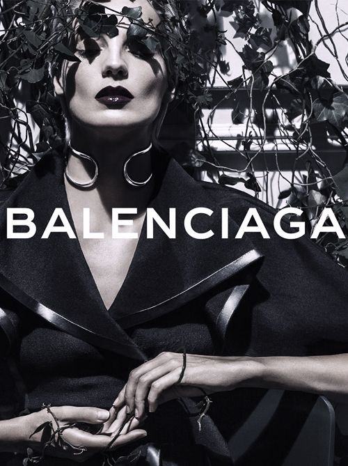 Daria Werbowy by Steven Klein | Balenciaga Spring/Summer 2014 Ad Campaign.