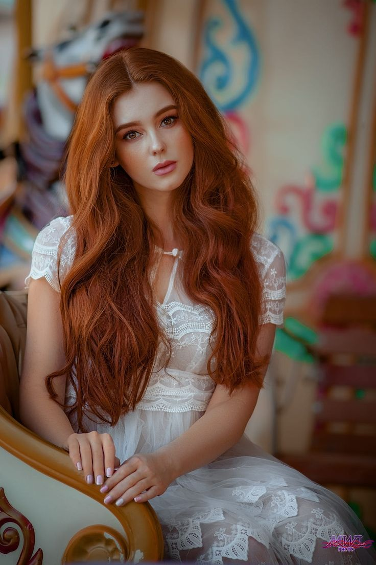 Alexsandra / 500px in 2020 Red haired beauty, Long red