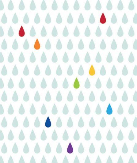 Papier peint Rainbow
