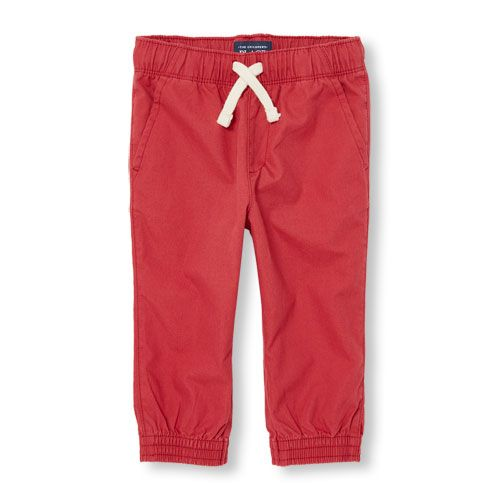 s Toddler Boys Jogger Pants - Red - The Children's Place