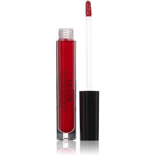 Stila Cosmetics Stay All Day Liquid Lipstick - Beso featuring polyvore, beauty products, makeup, lip makeup, lipstick, stila, matte finish lipstick, matte lipstick, stila lipstick and moisturizing lipstick