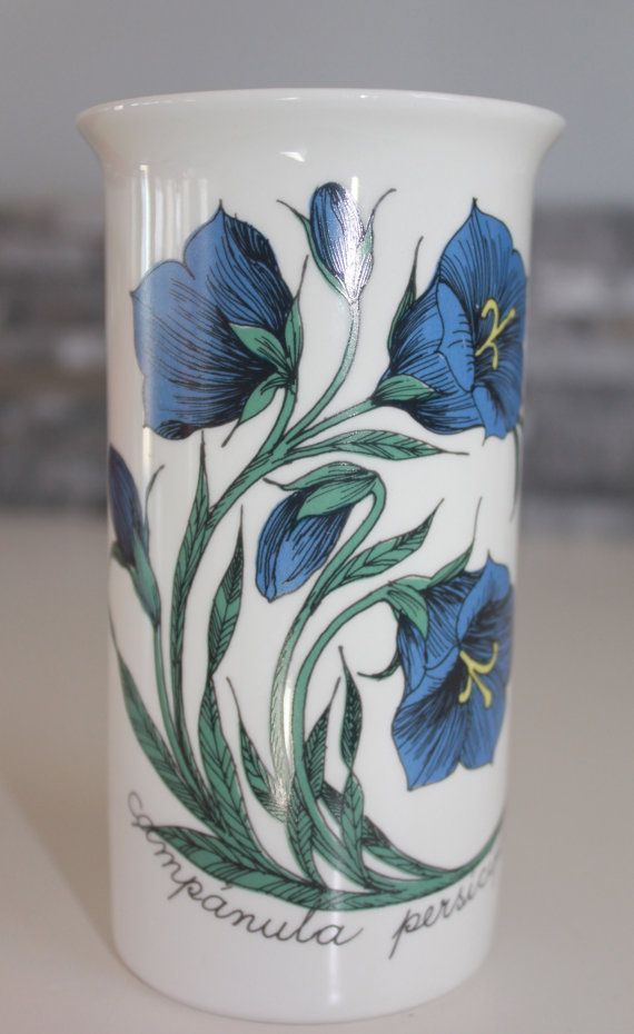 Beautiful Botanica series vase by Arabia by FinnishTreasures