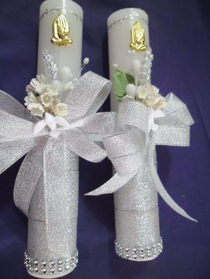 Para el sacramento de la confirmaci n cirios y candelas for Accesorios de decoracion