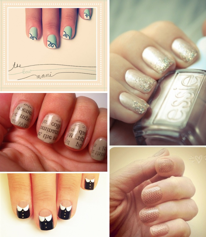 30 Funky And Trendy Nail Art Designs For 2014: 1000+ Ideas About Neutral Wedding Nails On Pinterest