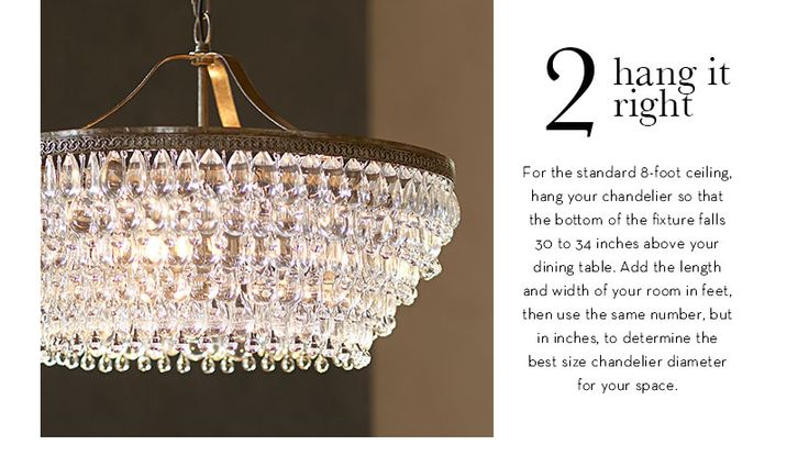 Pottery Barn Lighting Tip Chandeliers Hanging Amp Size For