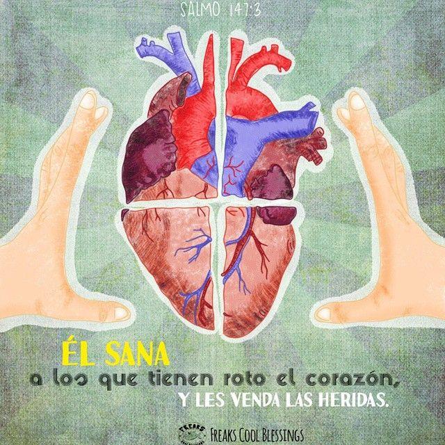God Heals the broken hearts! #illustration #God #healing #heart #love #brokenheart