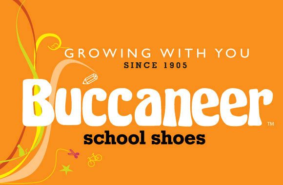 Buccaneer School Shoes - Branding. www.fusiondesign.co.za