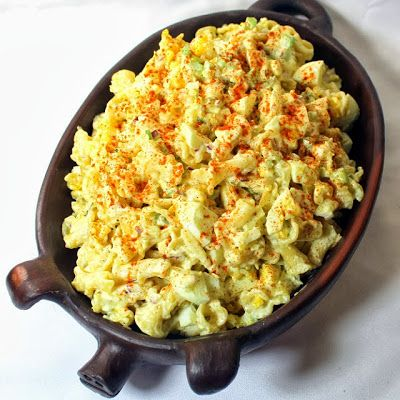 #Pasta Salad with Egg