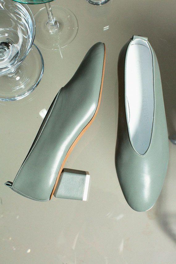Gray Matters Shoes - Verde Aqua Mildred Classic | BONA DRAG