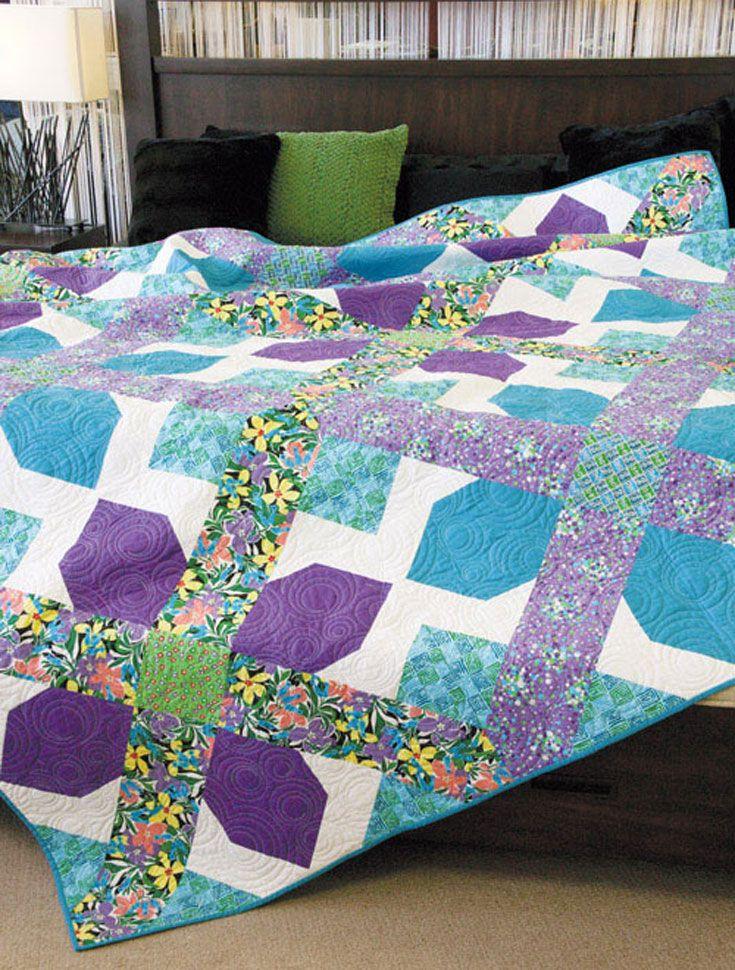 82 best Queen Size Quilts images on Pinterest | Queen quilt, Queen ... : quilting queen - Adamdwight.com
