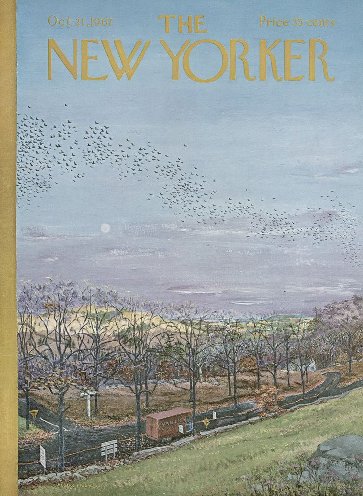 The New Yorker - Saturday, October 21, 1967 - Issue # 2227 - Vol. 43 - N° 35 - Cover by : Albert Hubbell