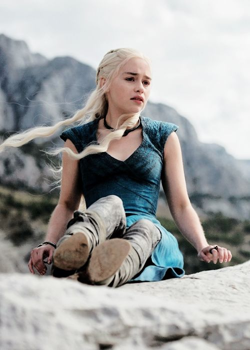 They're dragons, Khaleesi. They can never be tamed. Not even by their mother.