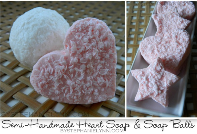 Facial soap balls for valentines day