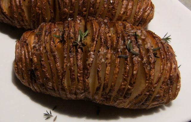 My Retro Kitchen: Hasselback (Accordion) Potatoes