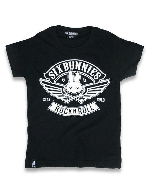 Tričko Six Bunnies - Biker