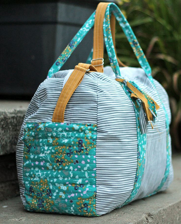 Best 25+ Duffle bag patterns ideas on Pinterest | Diy bags ... : quilted duffle bag pattern free - Adamdwight.com