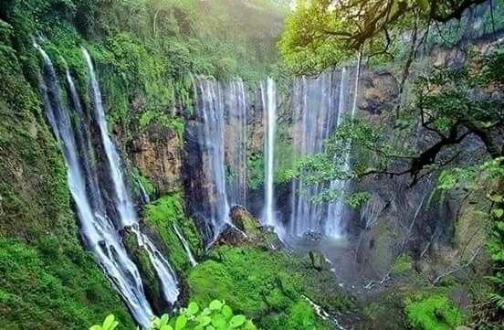 Coban Sewu Waterfall Lumajang, East Java