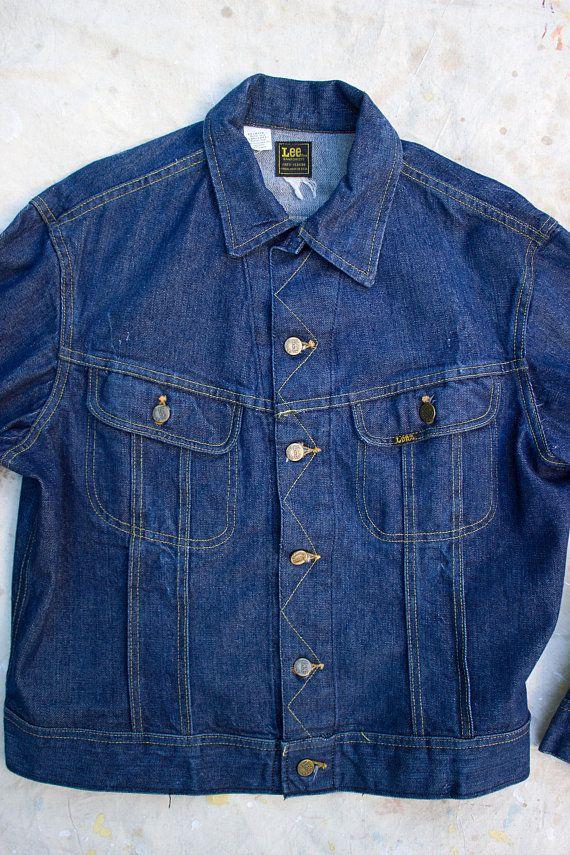 Vintage 1970 s Lee Denim Jacket 9732b36e78cdd
