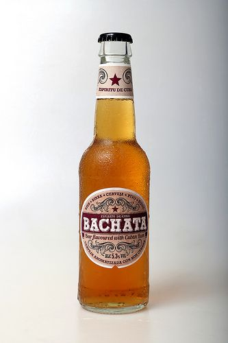 Bachata Beer, flavoured with rum. You dance Bachata, now you can drink it!
