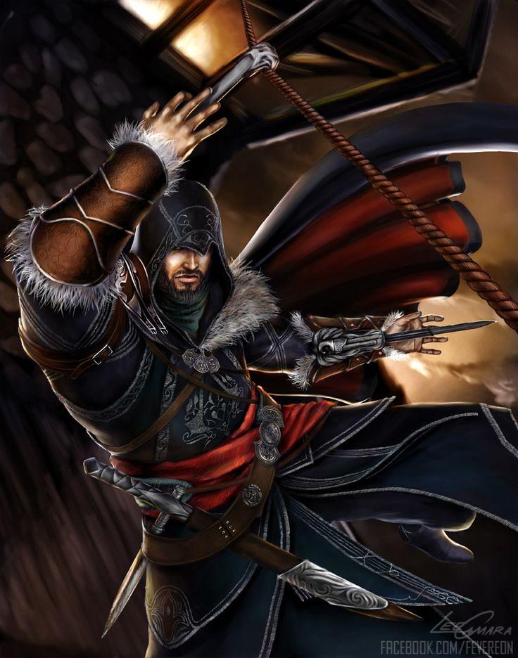AC Revelations Ezio by fevereon on deviantART
