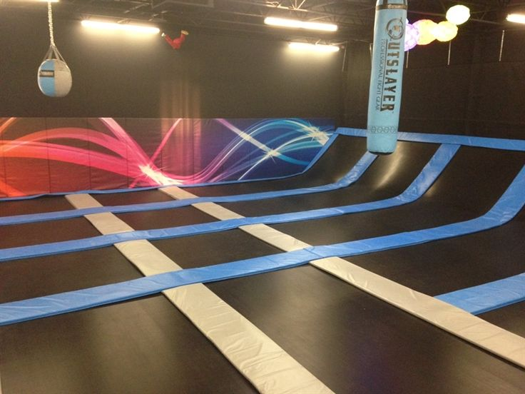 Chespeake's new trampoline park will have 10, square feet of wall-to-wall trampolines. Chespeake's new trampoline park will have 10, square feet of wall-to-wall trampolines.