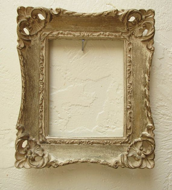 vintage cream french frame provencal home decor french country