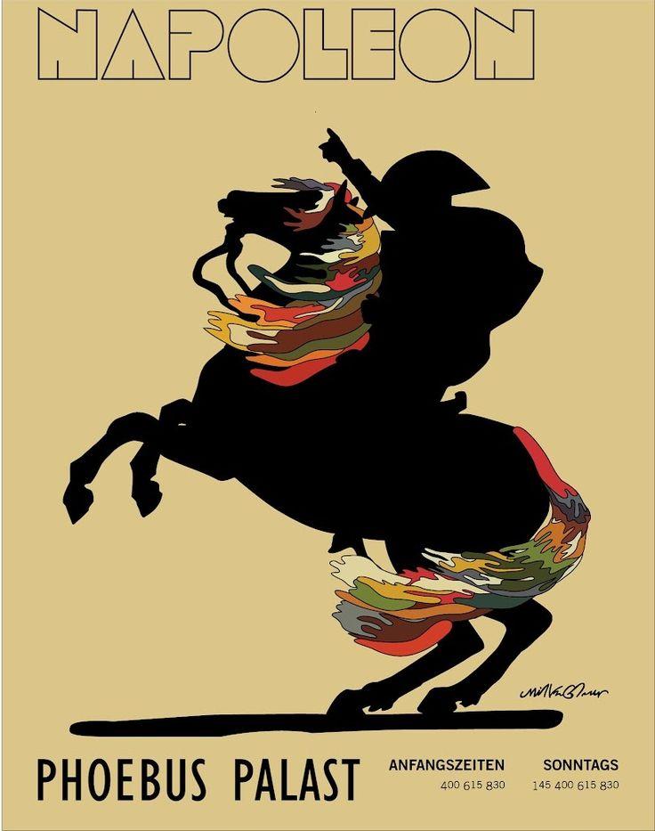 Milton Glaser-Dylan-Napoleon Phoebus Palast