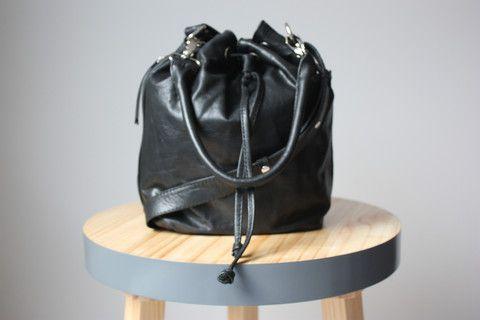 Luciana Bucket Bag Noir - Caravana