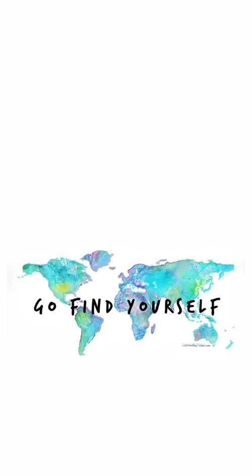 Go find yourself...