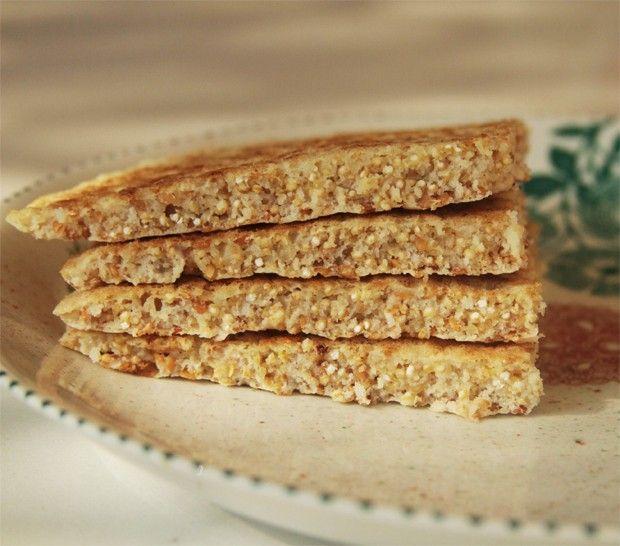 Pão de grão germinado é o novo aliado da alimentação funcional - UMA DELÍCIA!!!