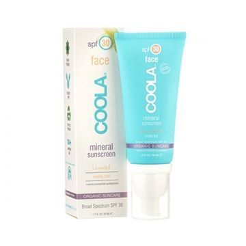 COOLA Coola Mineral Face SPF 30 Matte Tint // Oh she glows!   Scarlet & Julia