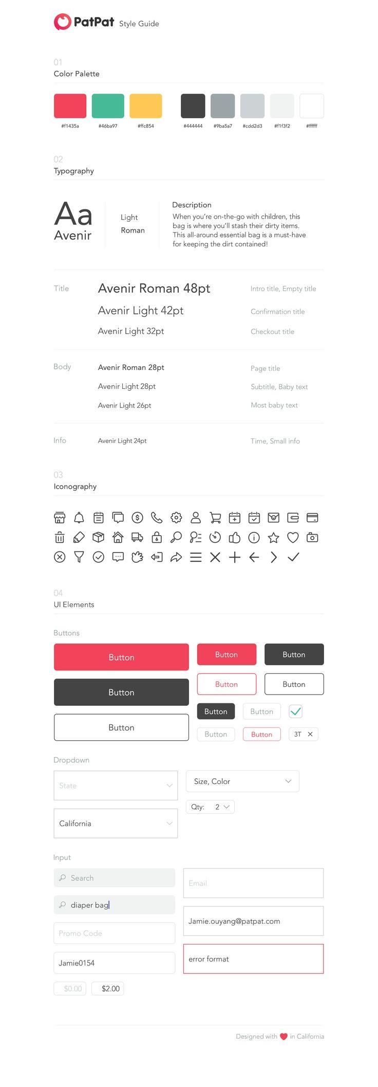 Ui style guide  Webdesign aus der Schweiz. Jetzt kostenlos für eine Offerte anfragen http://www.swisswebwork.ch/ Deine Web und Marketing Agentur aus Luzern.