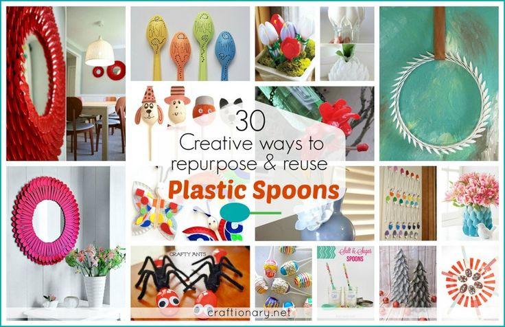 Creative plastic spoon ideas home kids craftionary.net