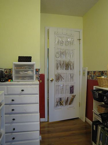 Circular Needle Storage Behind The Door