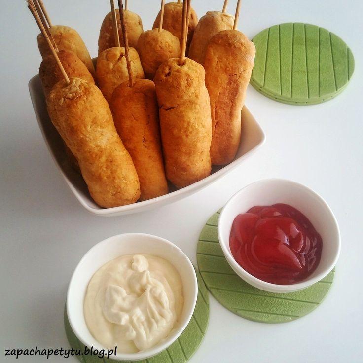 Mini corn dogs #zapachapetytu #corndogs #hotdog