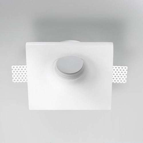 ZANEEN Design Invisibili Fixed Square 5.13 Inch LED Recessed Lighting Kit