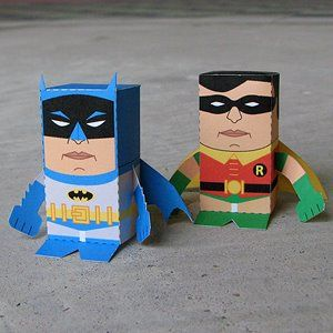 lots of cool paper toy printables. From speed racer to spongebob to Andy Warhol. Lol