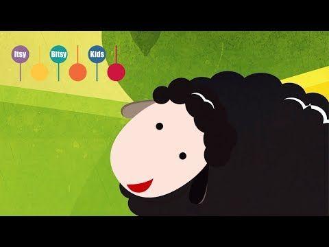 Baba Blacksheep (Baa Baa Black Sheep) - Nursery Rhymes | ItsyBitsyKids - YouTube