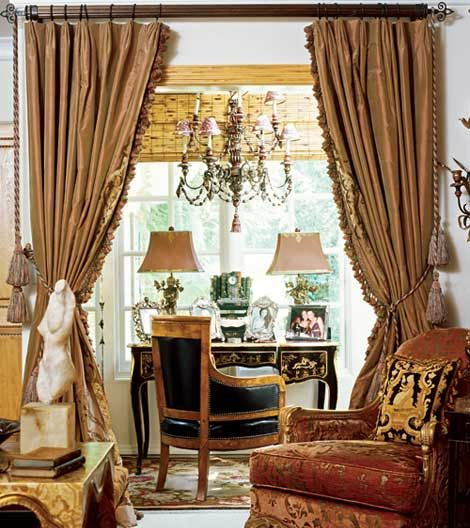 433 best images about window treatments on pinterest for Old world window treatments
