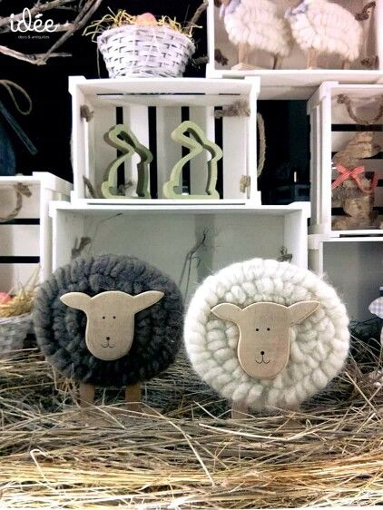Sheeps & bunnies...