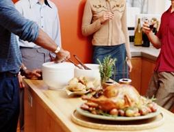 Holiday buffet etiquette