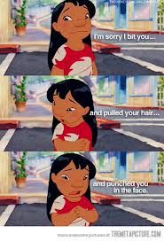 I'm sorryLilo Stitches, Stuff, Quotes, Childhood Memories, Disney Princesses, The Face, Funny, Children, Disney Movie