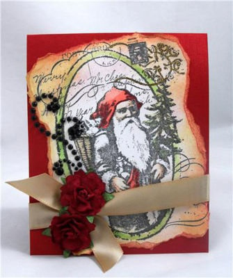 114 best available at michaels stores images on pinterest vintage st nick card designed by kristine reynolds courtesy of stampendous via m4hsunfo