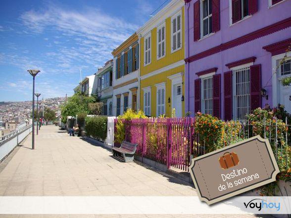 Paseo Atkinson, Valparaíso.