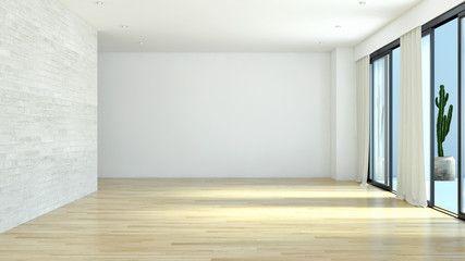 Modern living room. 3D rendering | House styles