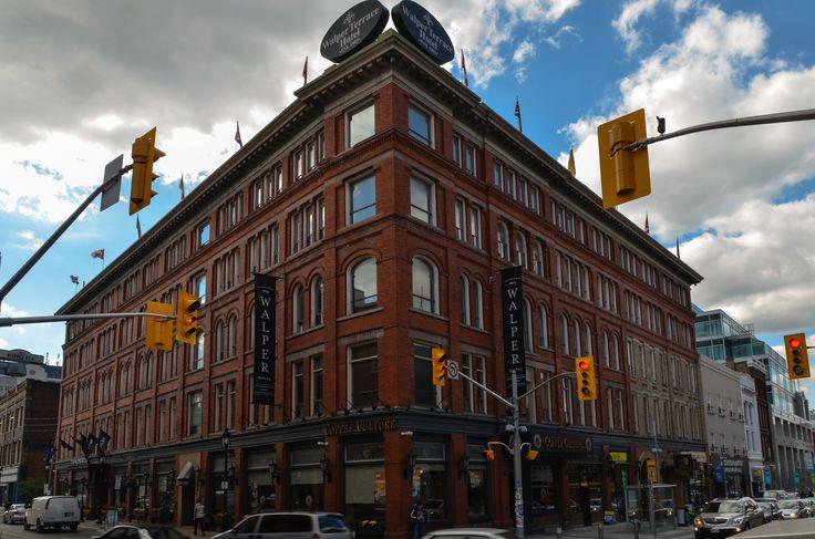 Walper Terrace Hotel in Kitchener, Ontario